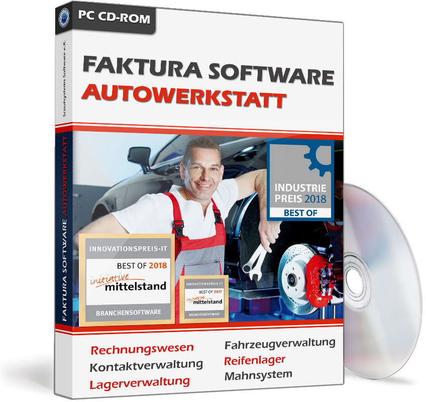 Faktura Kfz Software Autowerkstatt